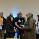 2 Physiker im Gespräch Steffi Geschwind und Harald Lesch