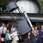 Einweihung Sternwarte Limburg
