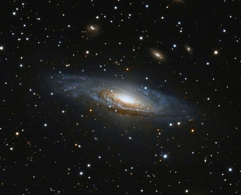 NGC7331 Aufnahme: Peter Remmel/Sternwarte Limburg
